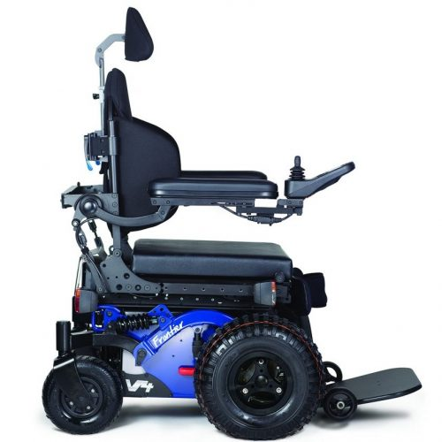 Frontier V4 – Off-Road FWD Electric Wheelchair