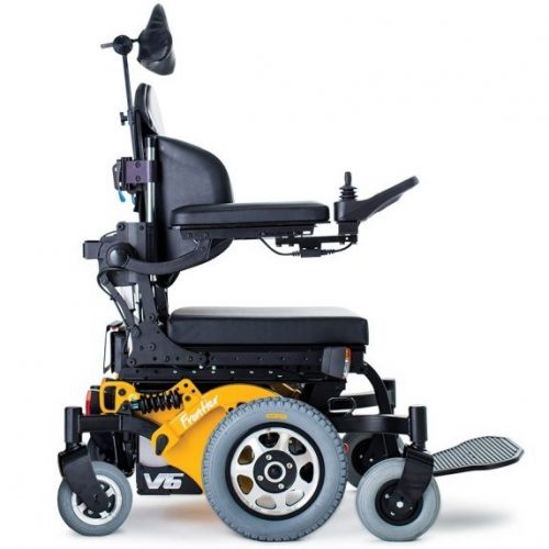 Mid Wheel Drive Power Wheelchair