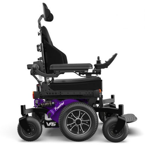 FRONTIER V6 – HYBRID MWD ELECTRIC WHEELCHAIR
