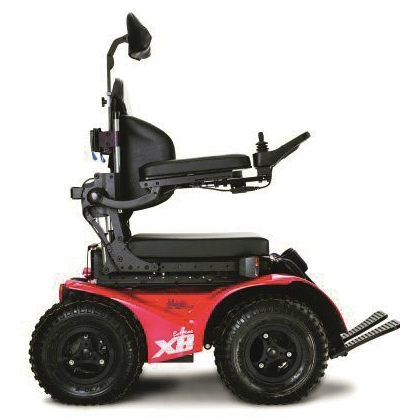 4 x Wheel Drive Power Wheelchair
