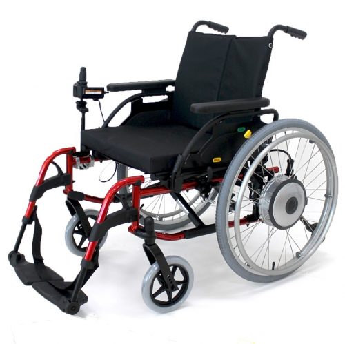 iXpress Power-Assist Wheelchair
